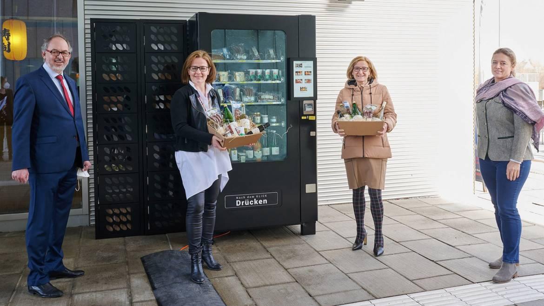 Unser Produktautomat im Regierungsviertel